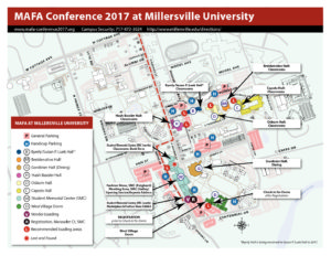 Millersville Campus Map Millersville Campus Map   Millersville Campus Map